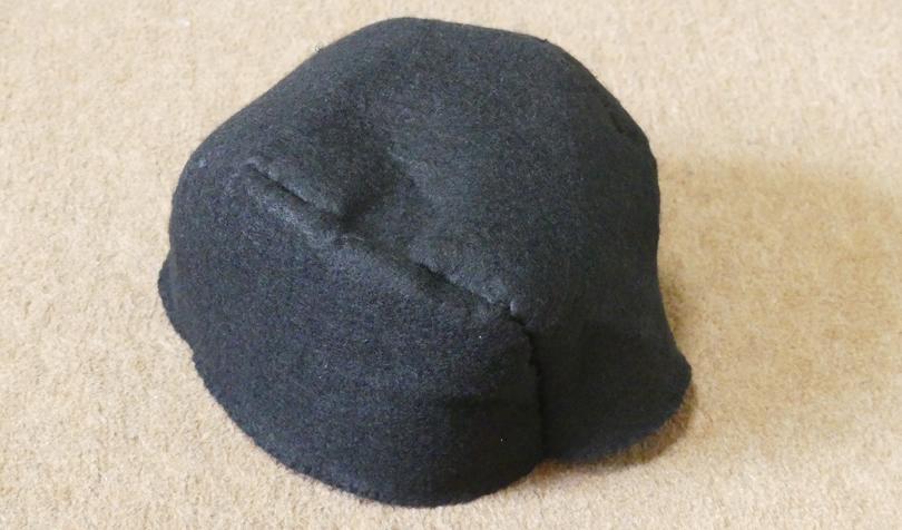 帽子の頭部分