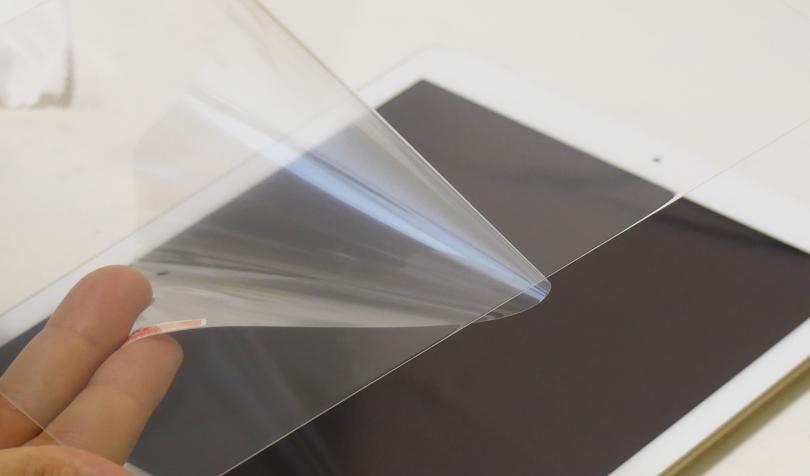 液晶フィルムの貼り方