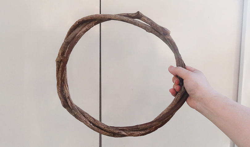 ツルの巻き方4