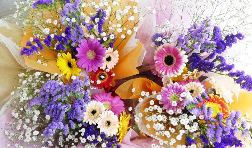 4つ分の花束
