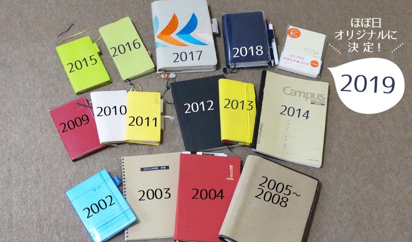 ほぼ日手帳オリジナルを選んだ理由