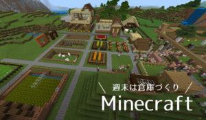 【家族でマインクラフトPE】ゲームでも整理整頓したい!倉庫作り担当の母が作った建築物たち。