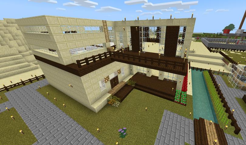 砂漠の倉庫