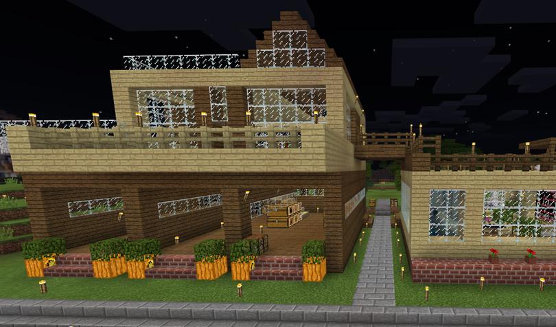 草原の倉庫