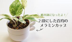 メラミンの植木鉢