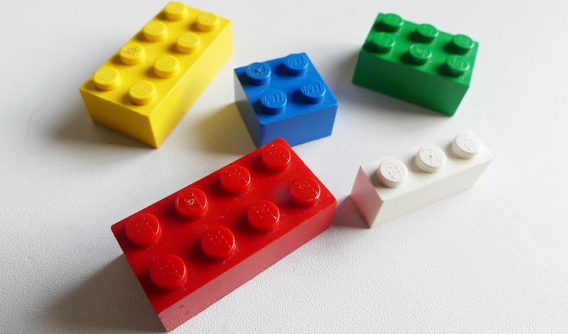 レゴの色遊び