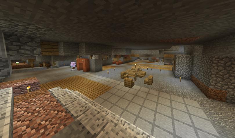廃坑の整地