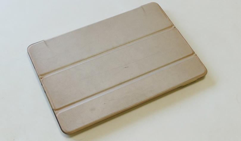 2年間使用したiPadケース