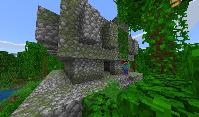 ジャングルの寺院