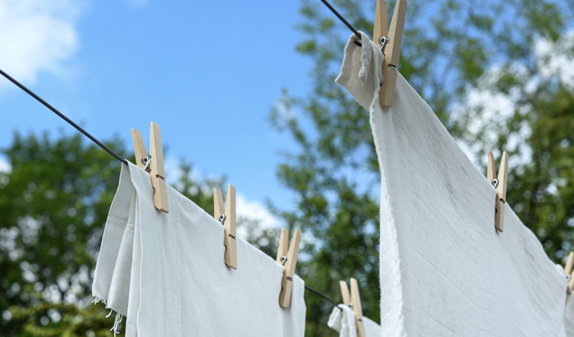 洗濯のお手伝い