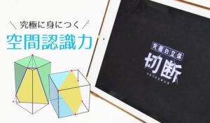 【iPadで脳トレ】「究極の立体《切断》」は高度な空間認識力をゲーム感覚で鍛えることができる!