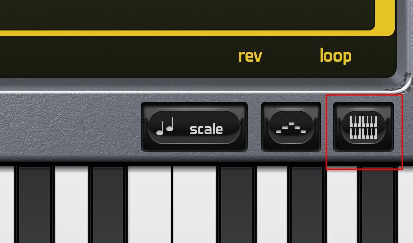 ピアノのアイコン