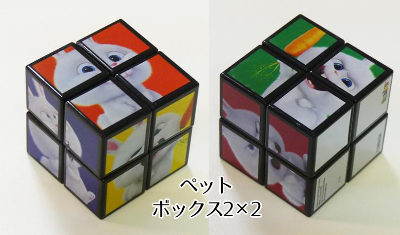 ペットのルービックキューブボックス2×2
