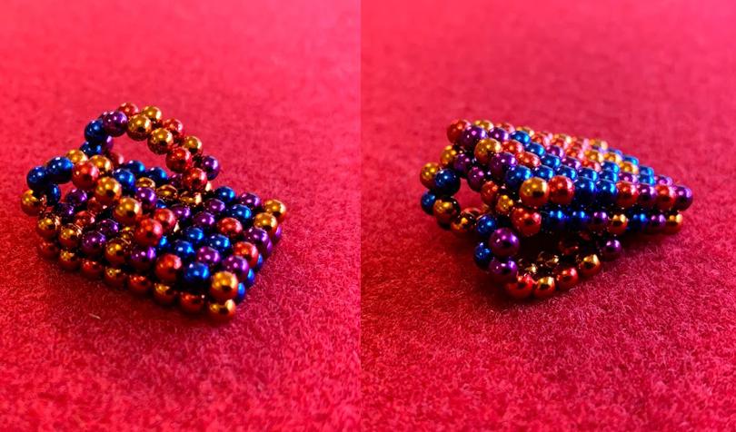 マグネットボールで作ったランドセル