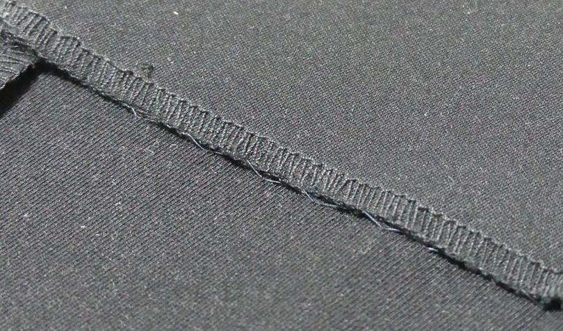 まつり縫いが完了