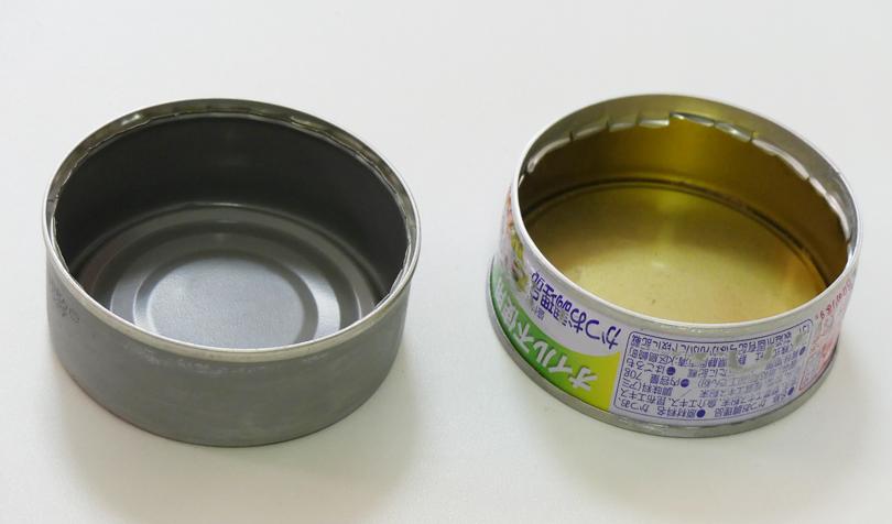 シーチキンの空き缶